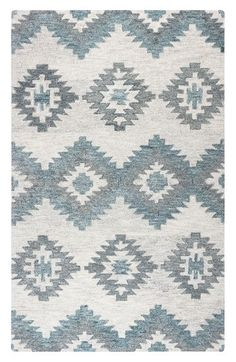 Free shipping and returns on Rizzy Home Taos Hand Tufted Wool Area Rug at Nordstrom.com. Hand-spun and knotted from soft, durable New Zealand wool, this artisanal rug is hand-washed and overdyed for a rich, unique look and color. Hand-serged edges and hand-trimmed pile create a lavish vintage aesthetic for your living space.