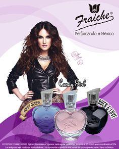 Colección de fragancias de Dulce María. Perfume Bottles, Wonder Woman, Queen, Celebrities, Beauty, Friends, Fragrance, Photo Galleries, Sweets