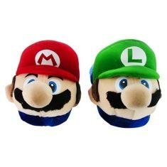 Pantufa Mario e Luigi - Tamanho Adulto | Loja Quarto Geek
