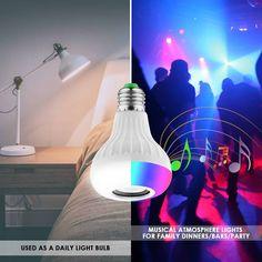 Choisir la meilleure ampoule enceinte bluetooth : Notre sélection Google Store, Lumiere Led, Lava Lamp, Table Lamp, Lighting, Home Decor, Tall Lamps, Technology, Products