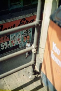 Saul Leiter Woman Waiting 1958