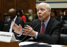 """IRS Has 99 Problems But the Church Ain't One  IRS Commissioner Koskinen testifies before the House Oversight and Government Reform Committee hearing on """"Examining the IRS Response to the Targeting Scandal"""" on Capitol Hill in Washington"""