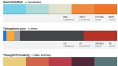 Color palettes for presentations