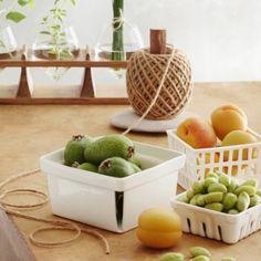 Porcelain Berry Baskets
