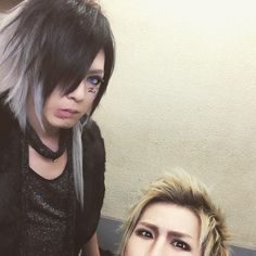 Kei and Shoya (DIAURA) being cute. :3