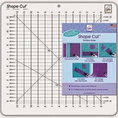 Con las Manos en la Aguja: June Tailor® Shape Cut Ruler™