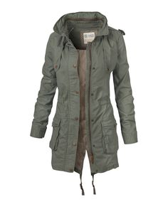 Large image of Lightweight Parka - opens in a new window