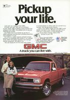 GMC S-15 Pickup 1984 Ad Picture