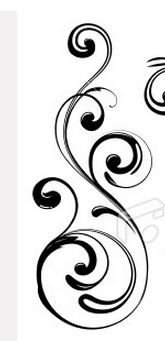 Perfect swirl tattoo design- determined to have a side tattoo!!