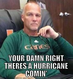 A Miami Hurricane is brewing