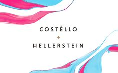 Identity and packaging for Costello & Hellerstein by Robot Food