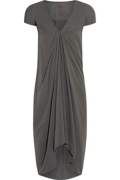 Rick Owens - Grey dress.