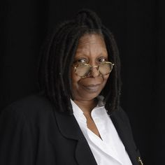 You've probably never noticed this but Whoopi Goldberg shaves her eyebrows off