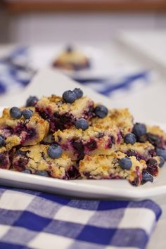 Use lime juice to brighten the flavor of the blueberries in this easy recipe.