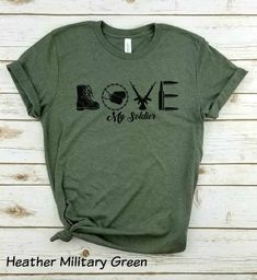 Mom Shirts Discover Love My Soldier - Unisex Shirt Army Mom Army Wife Army Girlfriend Love My Soldier Army Graphic Love My Soldier. Army Girlfriend Love, Military Girlfriend, National Guard Girlfriend, Military Deployment, Military Spouse, Military Relationships, Boyfriend, Army Mom Quotes, Usmc Quotes