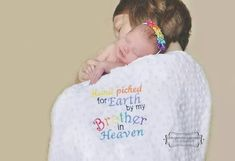 Rainbow Baby tribute blanket Blankets by Burpalicious on Etsy Timberland, Pregnancy After Loss, Infant Loss Awareness, Newborn Shoot, Rainbow Baby, Future Baby, Beautiful Babies, Baby Pictures, Little Babies