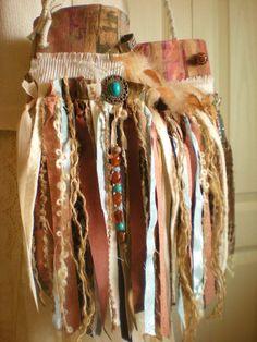 Native American Themed Gypsy Fringe Purse   CUSTOM by Pursuation, $65.00
