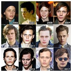 The Evolution of: Bill Skarsgard