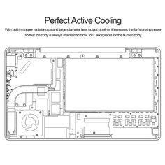 us GPD Pocket 7 Inches Mini Laptop Tablet PC Windows 10 Intel - Tomtop.com