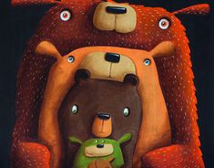 "Check out new work on my @Behance portfolio: ""!!!NEWS - Bear family"" http://be.net/gallery/62983299/NEWS-Bear-family"
