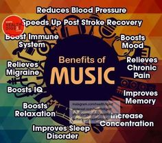 benefits of music