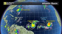 Tropical Storm Maria has formed in the Atlantic