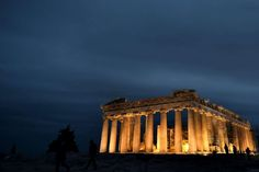 Temple of Parthenon - ARIS MESSINIS/AFP/Getty Images