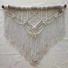 Ancestral Weave Macrame wall hanging by AncestralStore on Etsy