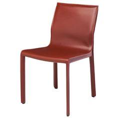 Upholstered Dining Chair & Reviews | AllModern Furniture Logo, Furniture Showroom, Furniture Layout, Cheap Furniture, Unique Furniture, Furniture Design, Vintage Furniture, Steel Furniture, Luxury Furniture