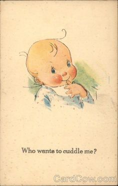 twelvetrees postcards   Who Wants to Cuddle Me? Charles Twelvetrees Babies