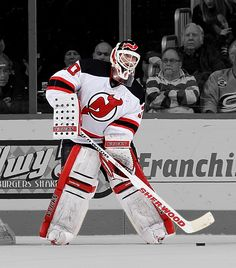 Martin scored his third career goal on Mar. Nhl Hockey Teams, Hockey Goalie, Hockey Games, Hockey Players, East Hanover, Martin Brodeur, Wayne Gretzky, New Jersey Devils, Four Year Old