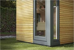 The Micropod is a garden studio measuring only 2.5 by 2.0m. Everyday, with modern times and the use of new technologies, more people are working from home, this is the ideal solution for homeworkers. The Micropod has a compact design making it fit un