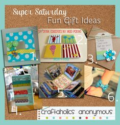 So many great ideas for Super Saturday. Love these gift ideas!