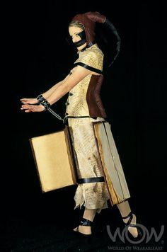 BINDING THOUGHTS, Greta Tapper, New Zealand. Supreme WOW Award Winner, 2003 Brancott Estate WOW Awards Show