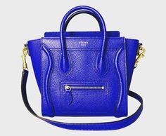 Available now! Celine Cobalt Blue Nano Bag DM me for more pictures #celinenano #celinecobaltblue