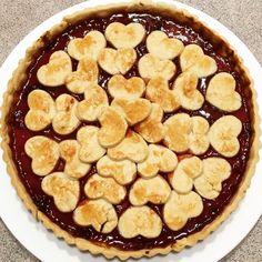 Pie alla marmellata di fragole