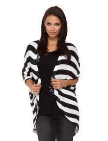 Zest Weekend Stripe Cardigan product photo