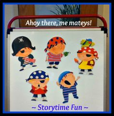 Storytime ABC's: Not a Flannel Friday: Celebrating Talk Like a Pirate Day!