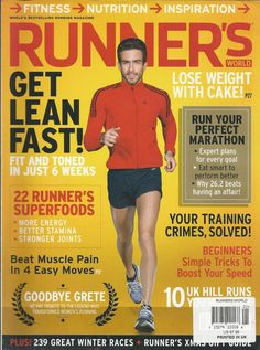 Runners World magazine Special nutrition issue 109 best foods Power snacks