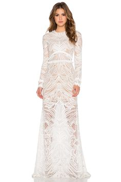 Alexis Vice Lace Maxi Dress in White Lace   REVOLVE