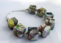 All Things Paper: Liz Hamman - Paper Jewelry and Book Origami