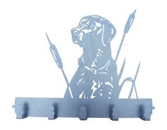 Bird Dog Metal Coat Rack and Hat Rack by MadMetalWorks on Etsy