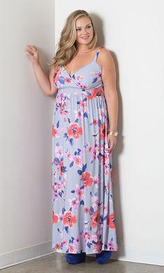cheap plus size maxi dresses 28 #plus #plussize #curvy