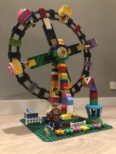 Sharing ideas with duplo blocks only Lego Duplo, Cool Toys For Girls, Lego Projects, Ferris Wheel, Cool Stuff, Kids, Style, Playing Games, Tips And Tricks