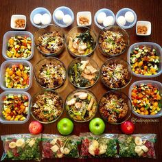 """Why the word """"NO"""" is important in meal prep... no waste no guesswork no daily stress with everyday cooking no excuses  #healthyfood #fitfam #weightloss #weeklymealprep #foodprep #mealprep #noexcuses #healthy #organized #lifestyle #preplife #mealplan #tupplife #diet #fiteats #foodprepprincess #weightlossjourney #mealprepmonday by foodprepprincess"""