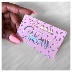 28 best holographic business cards unicorn foil rainbow silver definitely check out her page and website you will not be disappointed the nail cakery holographic foil business cards colourmoves