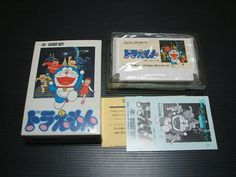 USED Doraemon Nintendo Famicom BOXED Import Japan 1301