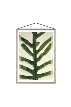 A4 textielprint Fern