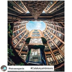 View of @lapedrera_barcelona, by @nicanorgarcia one of our #CatalunyaAdvisors. To Nicanor, architecture and photography are two complementary worlds. As an architect, he loves to design buildings, but recognizes that it is through photography when he is able to give life to those two worlds and turn them into a sensational experience through different perspectives, shapes and colours. Discover the stories hidden within architecture by @nicanorgarcia! +INFO bit.ly/CatalunyaAdvisors