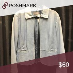 Leather Jacket Vintage blue blazer Jackets & Coats Blazers